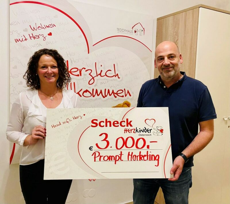 Prompt Marketing Gmb H Weihnachtsspende 2020